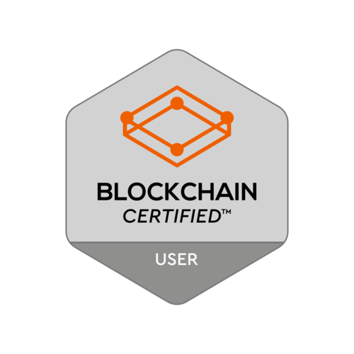 Blockchain User Certification