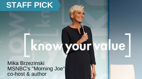 Image of TV Journalist Mika Brzezinski: Knowing Your Value  course