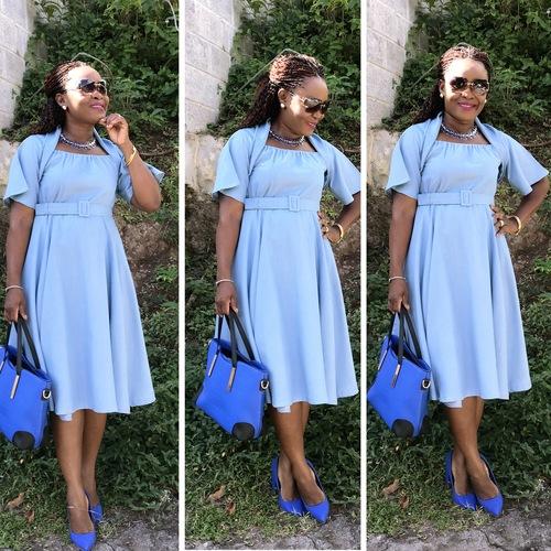 THE Simplicity & Vogue SEW ALONG DRESS