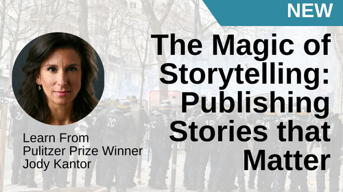 Image of The Magic of Storytelling: Publishing Stories that Matter course