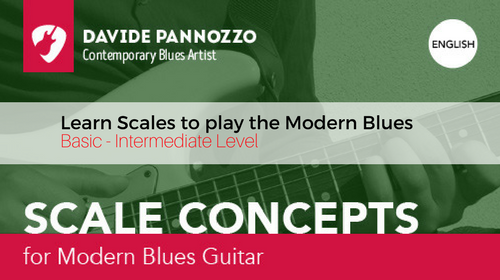 Scale Concepts for Modern Blues Guitar