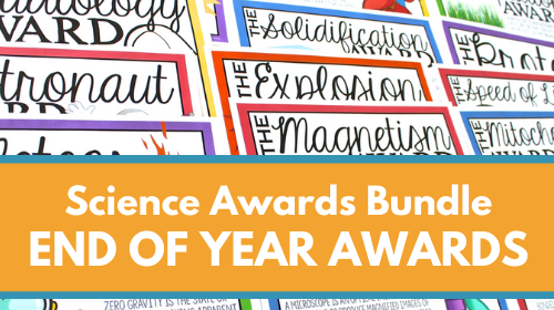 End-Of-The-Year Science Awards