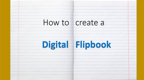 How to Create a Digital FlipBook