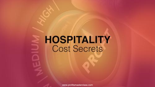 Hospitality Cost Secrets