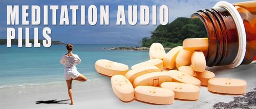 Barefoot Doctor's Meditation Audio Pill - Keep Pushing