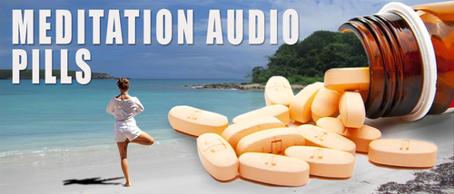 Barefoot Doctor's Meditation Audio Pill - Safe To Carry On