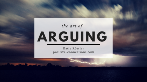 The Art of Arguing
