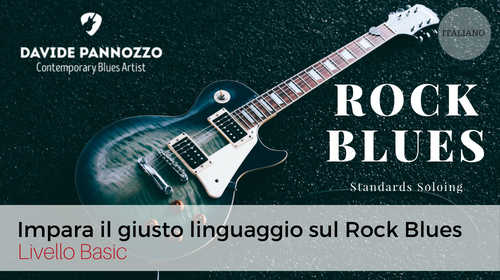 Rock Blues Standards Soloing (Italiano)