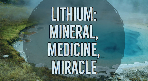 Low-Dose Nutritional Lithium: Clinical Protocols for Mental Illness and Mental Health