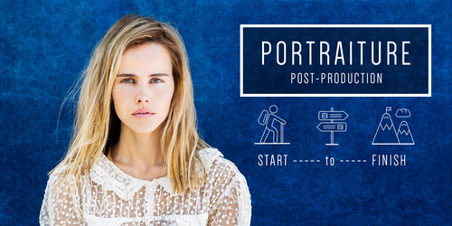 Start to Finish / 3 Portrait Retouching Production Projects