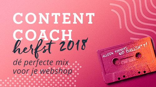 Content coach • HERFST • sep/okt/nov