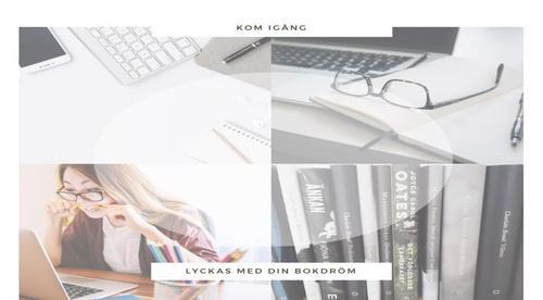 Skriv din bok - självstudiekurs