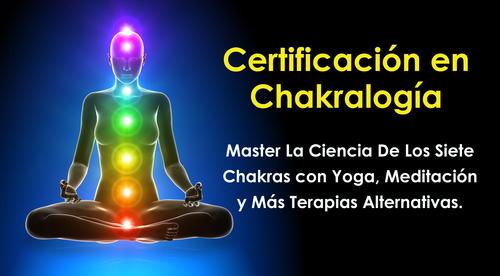 Certificación en Chakralogía