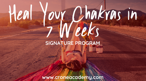 Heal Your Chakras in 7 Week Live Group Program