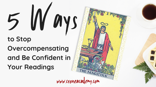 5 Ways to Stop Overcompensating and Be Confident in Your Readings