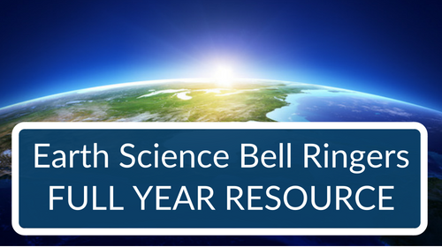 Bellringers and Warm-Ups - Earth Science