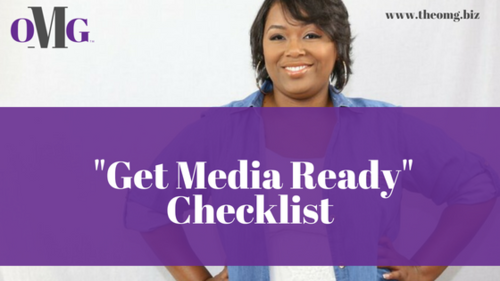 Get Media Ready Checklist