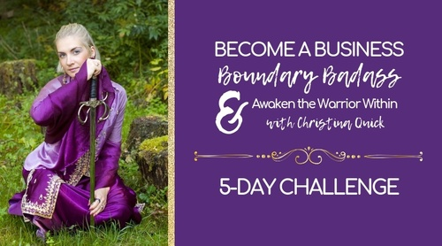 Become a Biz Boundary Badass 5-day Challenge