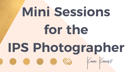 Mini Sessions for the IPS Photographer