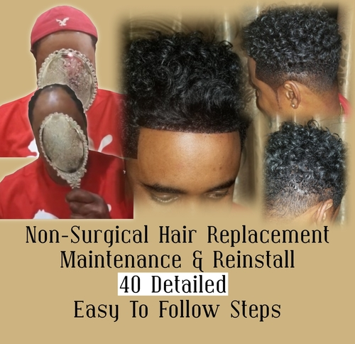 Non Surgical Hair Replacement 40 Detailed Easy To Follow Steps