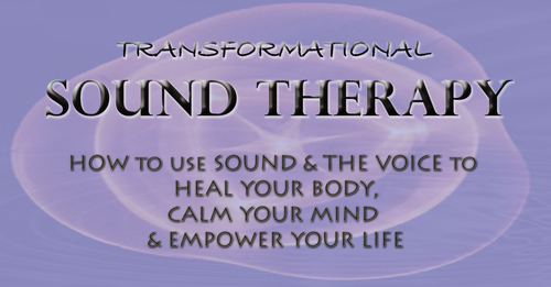 Transformational Sound Therapy MP3 bundle  - The Healing Powers of the Voice