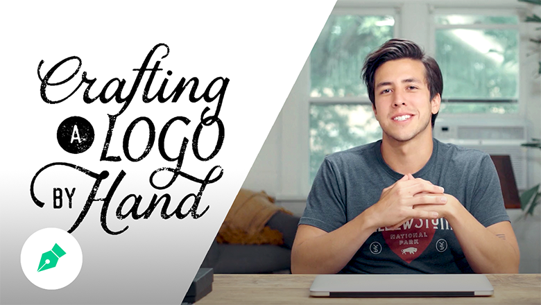 Craft a Logo by Hand