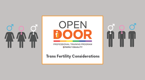Trans Fertility: Considerations for future parents