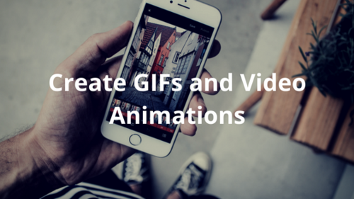 Design GIFS and Video Animations