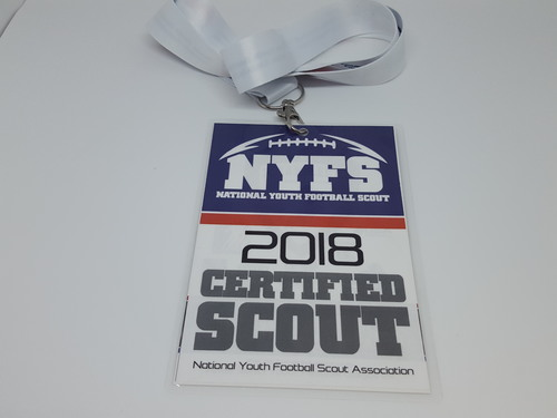 Youth Football Scout Certification