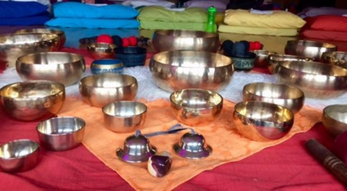 Level 1 & 2 Sound Healing Meditation Training with Singing Bowls