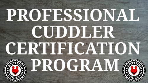 Professional Cuddler Certification Program Beta