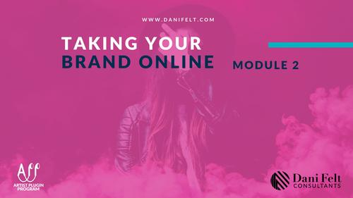 Course 2: Online Branding