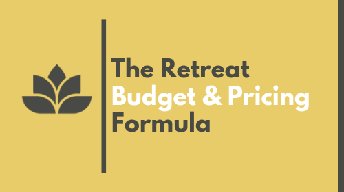 The Budget and Pricing Formula