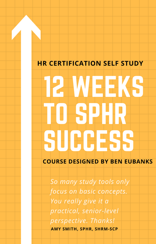 sphr study course self guide courses certification