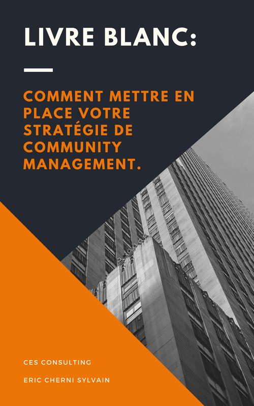 Livre Blanc  Comment mettre en place votre stratégie de Community Management