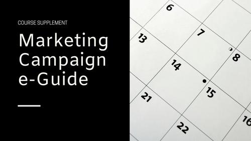 Marketing Campaign e-Guide