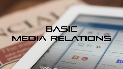 Basic media relations