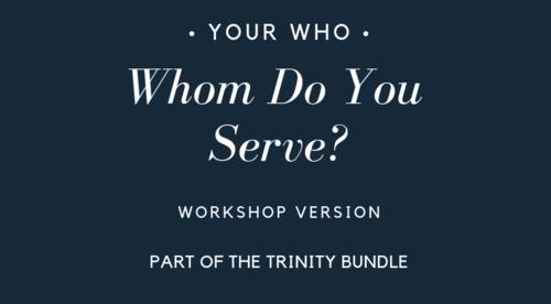 Whom Do You Serve? -2-19