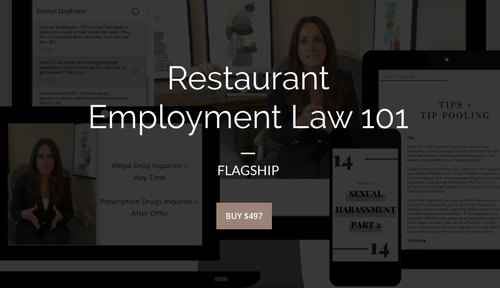 Restaurant Employment Law 101 | FLAGSHIP