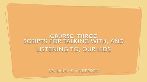 Scripts For Talking With, and Listening To, Our Kids About Gender (Accelerated)
