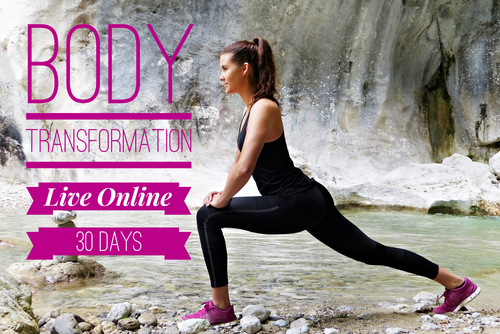 30 Day Live Online Body Transformation Package