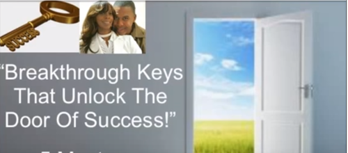 Breakthrough Keys to Unlock Doors of Success