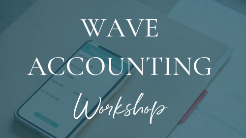 Wave Accounting Workshop