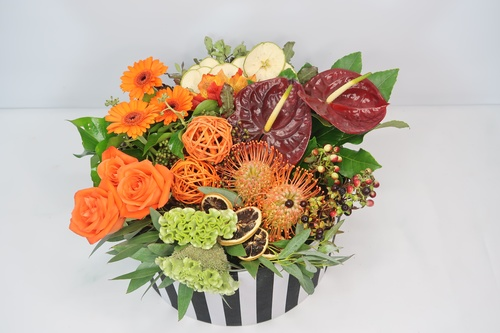 Autumnal Flower Course - 7 Designs