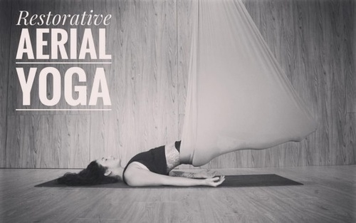 80hr Aerial Restorative Yin Yoga Teacher Training Certification