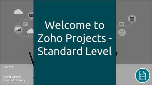 Onboarding & Zoho Projects - Standard Level