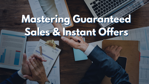 Mastering Guaranteed Sales and Instant Offers