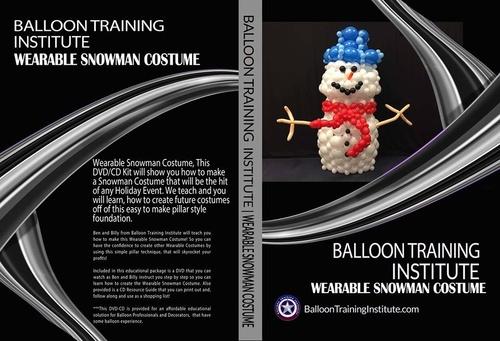 Wearable Snowman Costume