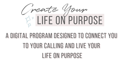 Create Your Life On Purpose : Connect To Your Calling and Discover Your Purpose