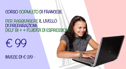Corso Francese Online Completo (corso base+intermedio)